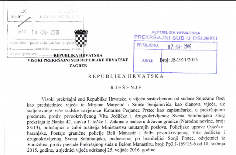 Liberland Press has obtained copies of all Liberland related Croatian appeals court rulings.