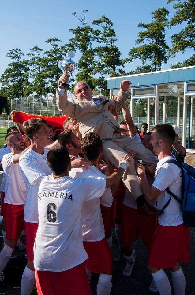 Champions! Chameria celebrates its victory in the UNPO World Cup
