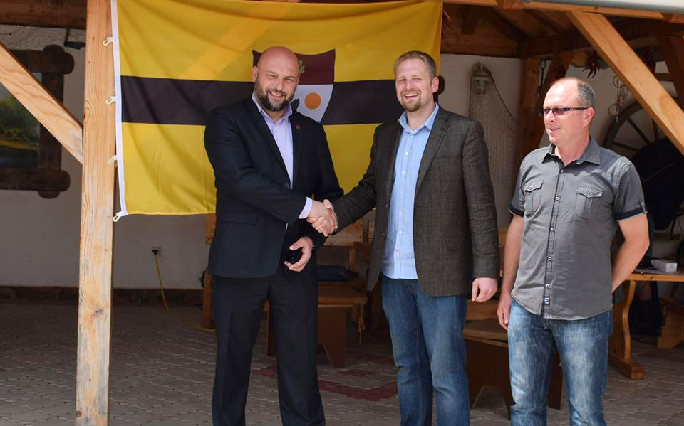 President of Liberland just met Deputy Mayor of Sombor