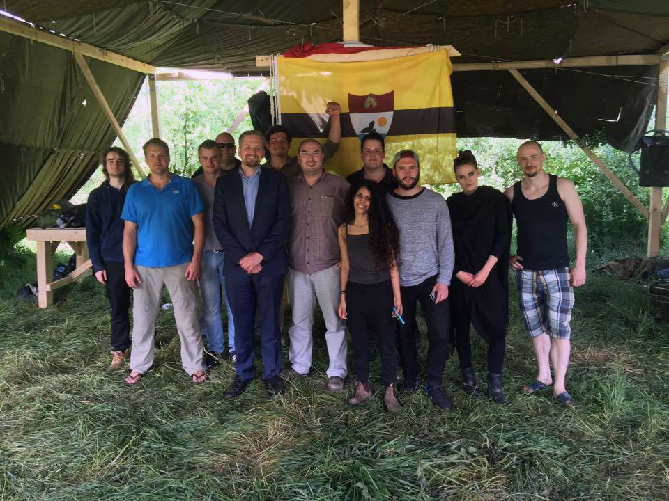 Liberland's President with the LSA