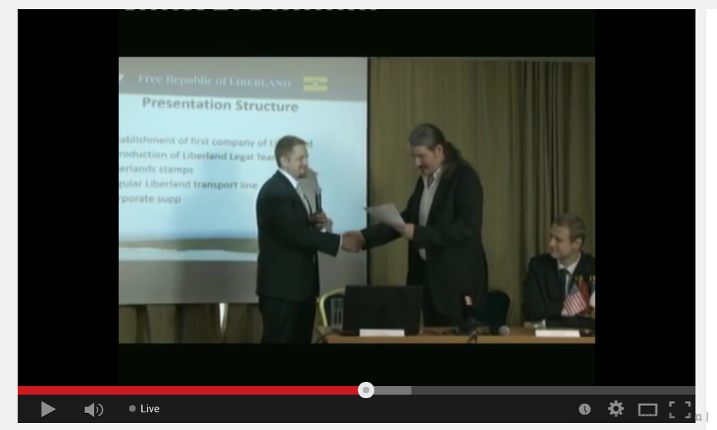 LSC Became The First Incorporated Company in Liberland