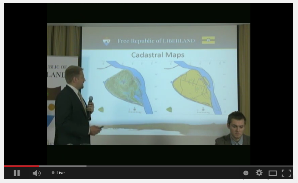 Cadastral Maps of Liberland