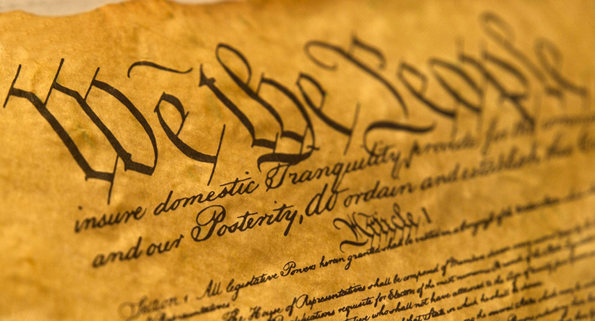 Image of a Constitution