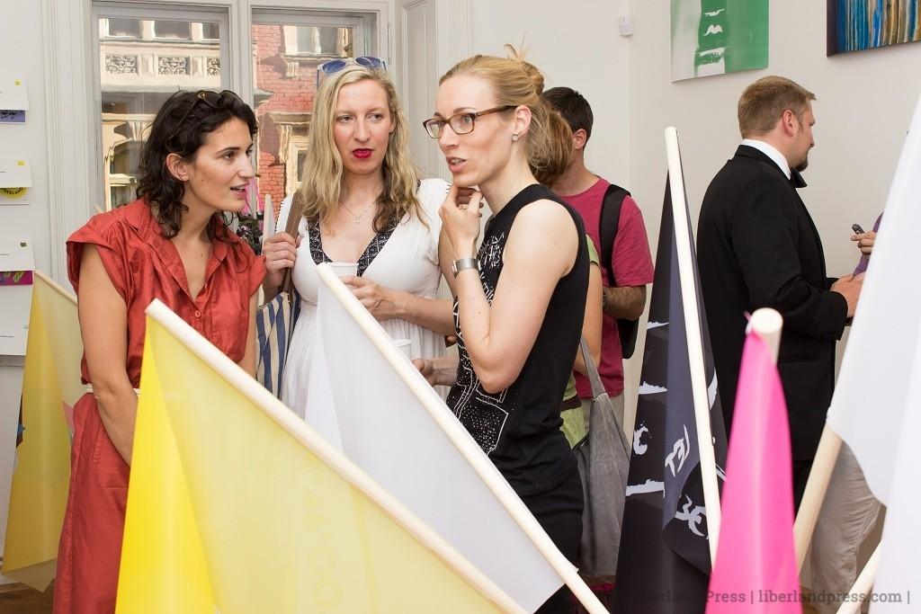 Liberland State Symbols Exhibition