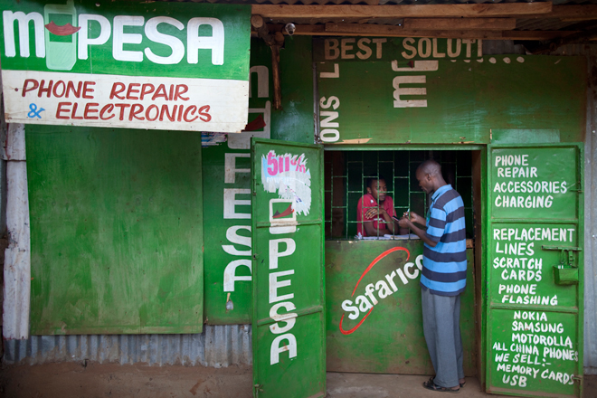 In developing nations, companies like M-Pesa are leading the way in money transfer.