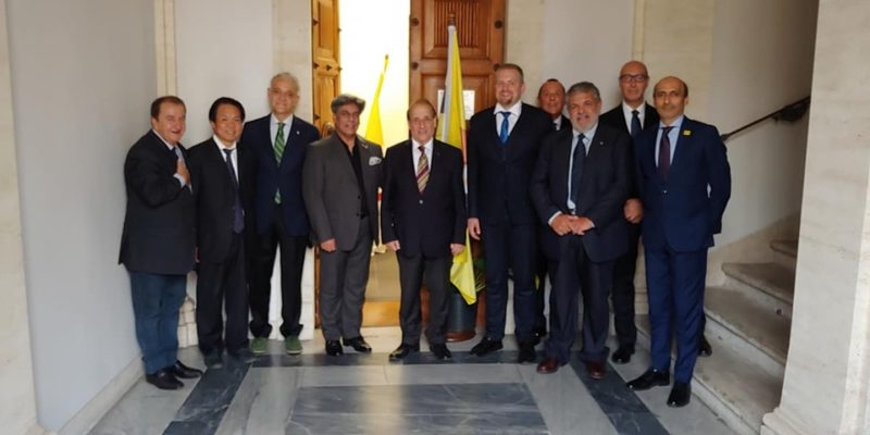 Liberland Diplomatic Delegation arrives in Rome